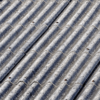 Asbestos covered roof