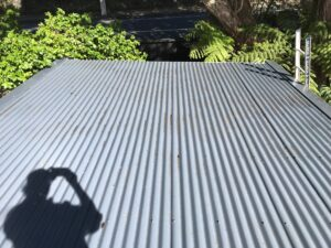 Roof cleaning job done by NZTS