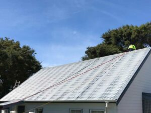 NZTS cleaning residential house roof