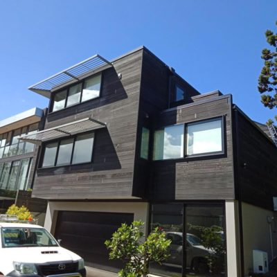 Cedar house maintenance and cleaning done well - NZTS