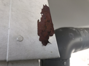 water blasting damage due to incorrect technique