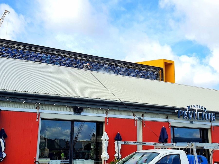 Commercial Building Wash Auckland NZ