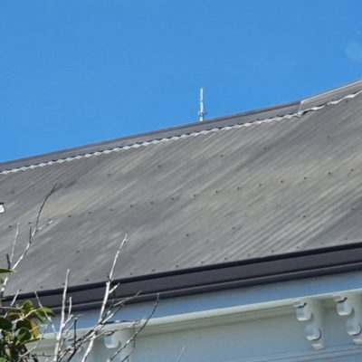 Roof Paint Oxidisation
