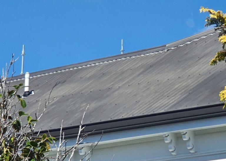Roof Paint Oxidisation